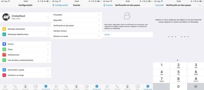 La verificación en dos pasos de WhatsApp llega al iPhone y Android, así la puedes activar img 0365