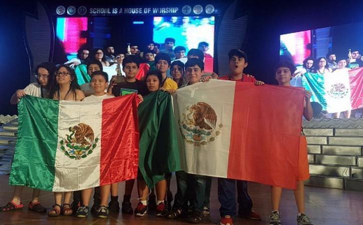 Yucateco de primaria 'brilla' en Competencia Internacional de Matemáticas