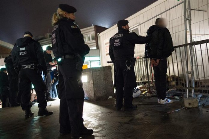 La Policía alemana detiene a uno de los agresores sexuales en Colonia.