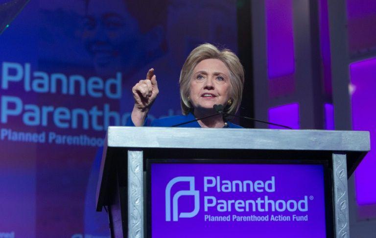 Resultado de imagen para IMAGENES aborto hillary clinton