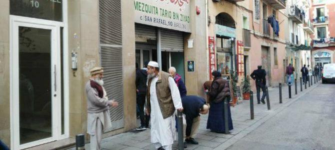 Musulmanes en Cataluña.