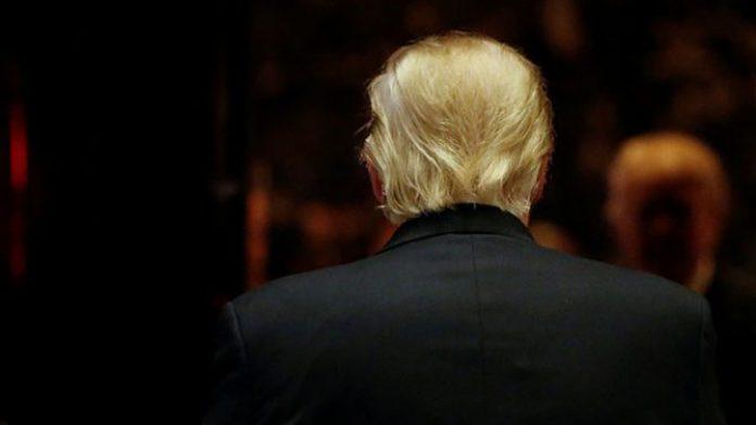 Donald Trump en la Torre Trump de Nueva York, el 13 de enero de 2017.