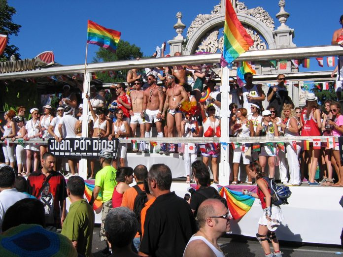 Fiestas del Orgullo Gay en Madrid. /Wikimedia
