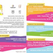 Bellas Artes invita al 2° Festival Internacional de Arte Móvil