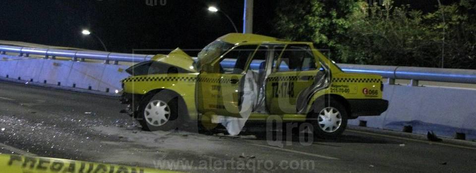 Libre el adolescente que conducía ebrio y mató a taxista al chocarlo de frente