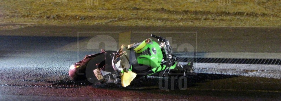 Trágico accidente cobra la vida de motociclista