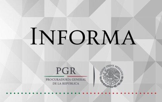 PGR anuncia la detención de Javier Duarte
