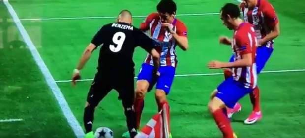 La obra maestra de Benzema que 'mató' al Atlético y puso al Madrid en la final de la UCL