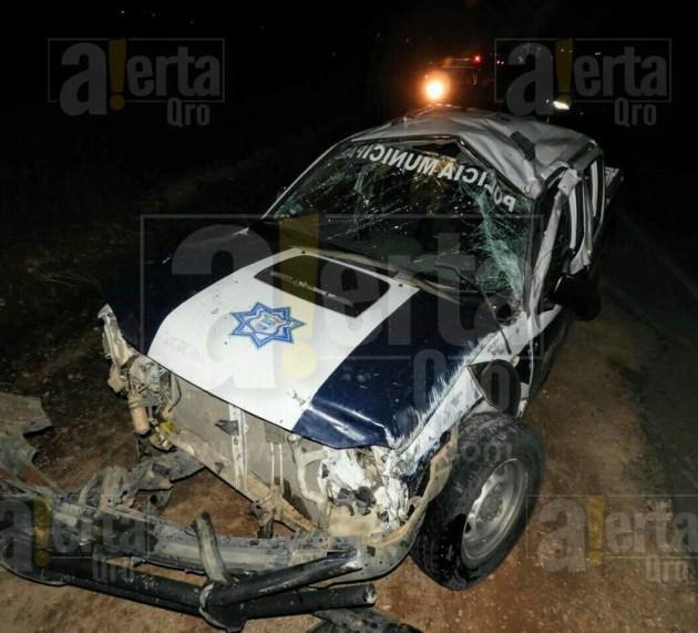 Muere policía de Huimilpan tras accidente; deja esposa y 1 hija