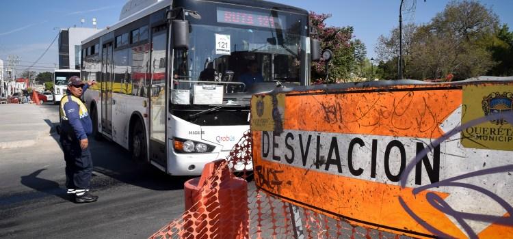 Habrá desvío temporal de rutas por cierre total en Ezequiel Montes