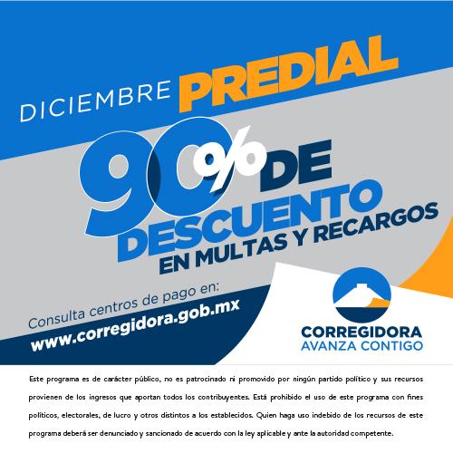 Predial Diciembre Corregidora