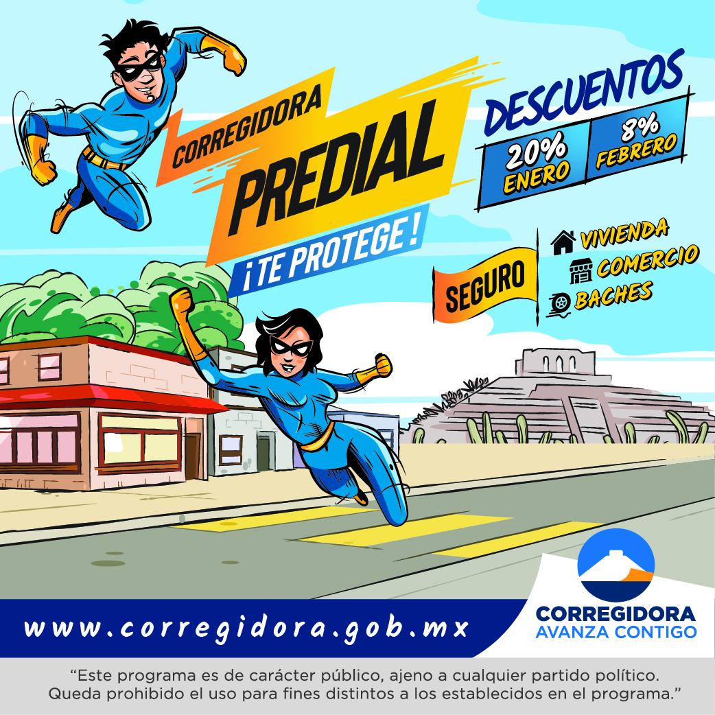 Predial Corregidora 2020