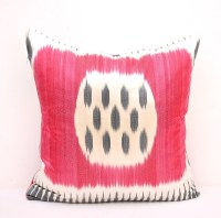 Hot Pink Throw Pillow Cover - Indoor Outdoor Couch Pillow ...
