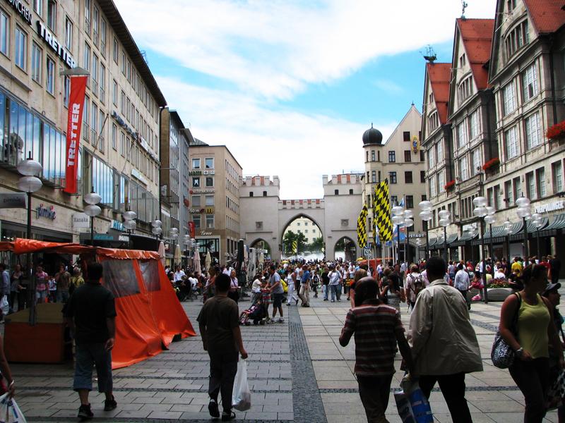 turystyczna ulica monachium munich
