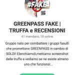 fake green pass recensioni