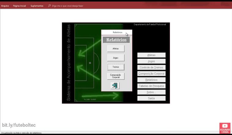 Sistema para clubes de futebol