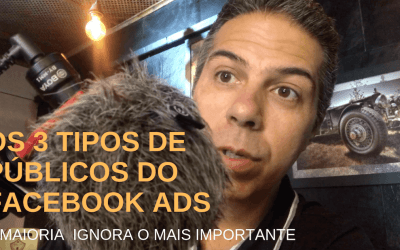 Os 3 Tipos de Públicos Para Anunciar no Facebook Ads