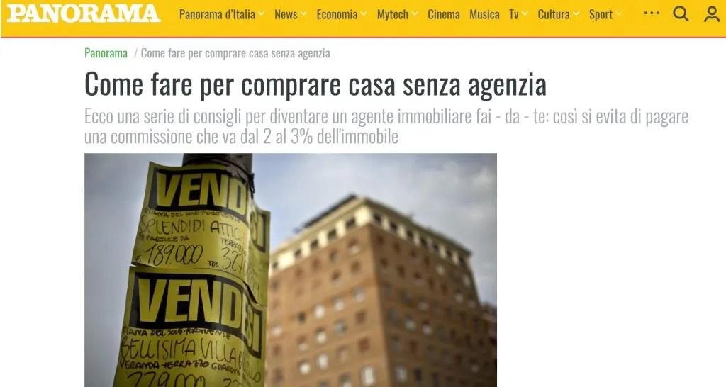 Comprare casa senza agenzia  Il Blog di Alessandro Pasqual