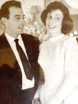 mia madre con suo fratello, mio zio Plinio e padrino
