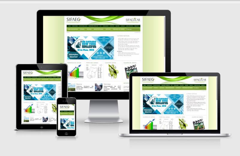 Desenvolvimento de site Sifaeg