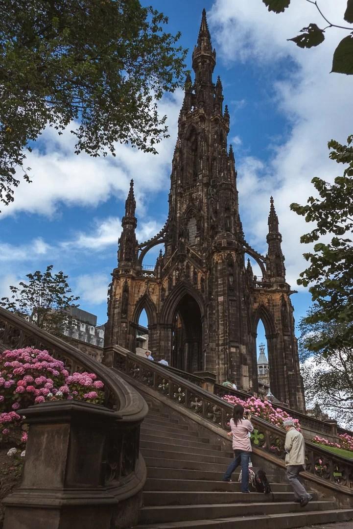 Scozia - Scott Monument ad Edimburgo