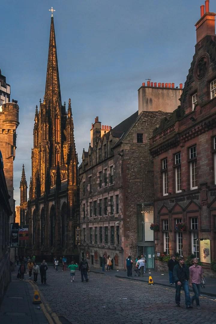 Scozia - Royal mile ad Edimburgo