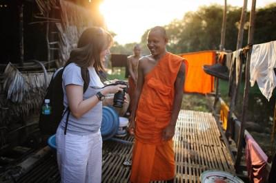 viaggio fotografico in Cambogia, incontri