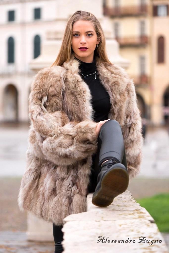 fotografia di moda in Prato della Valle a Padova
