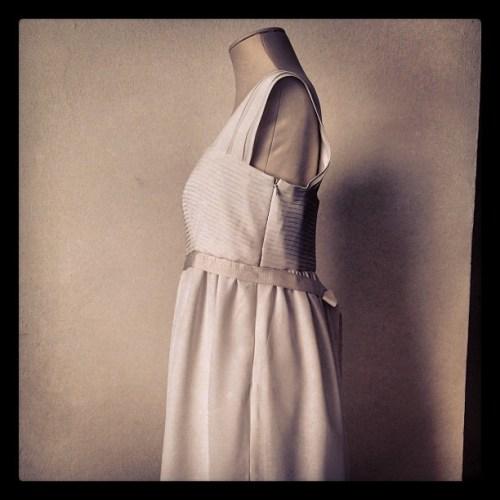abito da sposa pura seta