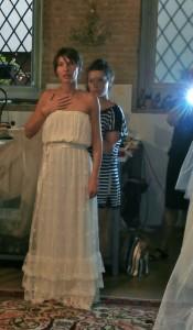 prove abito da sposa in atelier