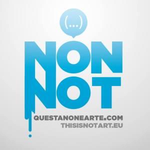 questa non è arte - This is not art logo