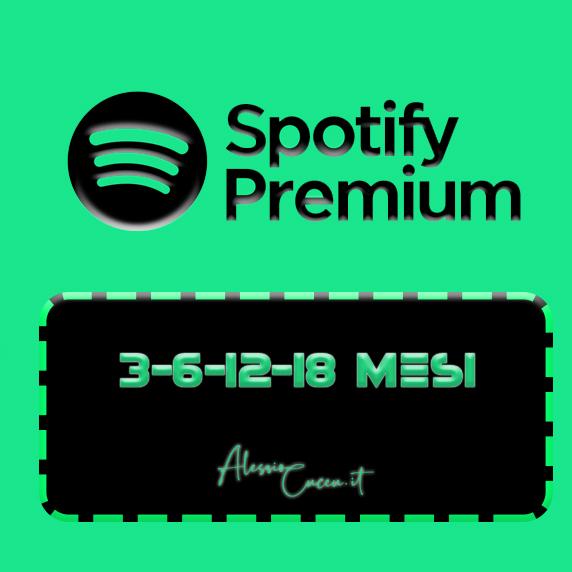 Spotify Premium iOS/Android 3/18 Mesi