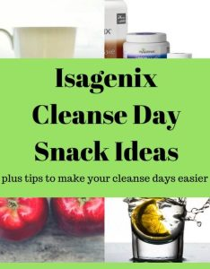 Get ideas to help you on your isagenix cleanse days what eat  also day snack plus tips rh alesstoxiclife