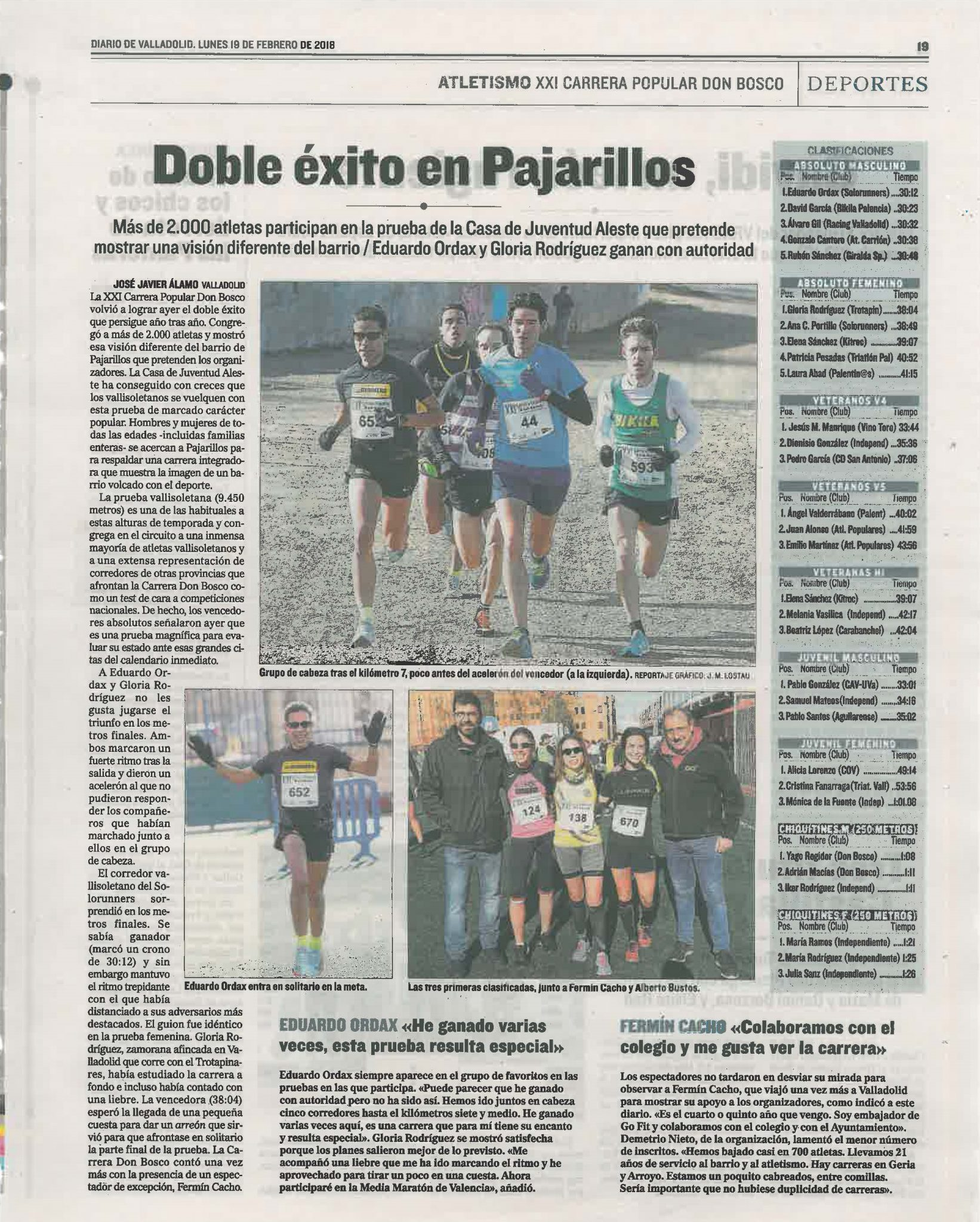 PRENSA XXI CARRERA POPULAR DON BOSCO
