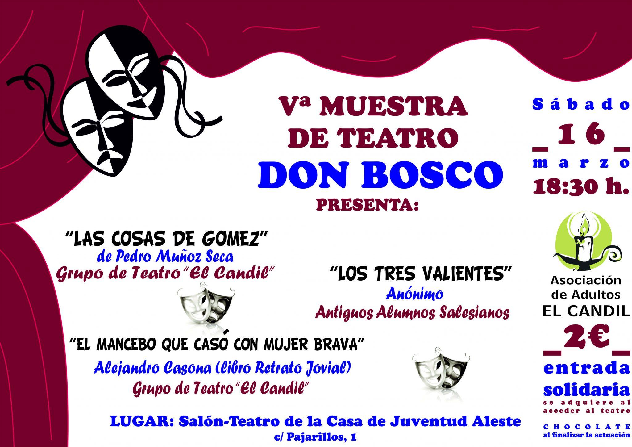 Vª MUESTRA DE TEATRO DON BOSCO