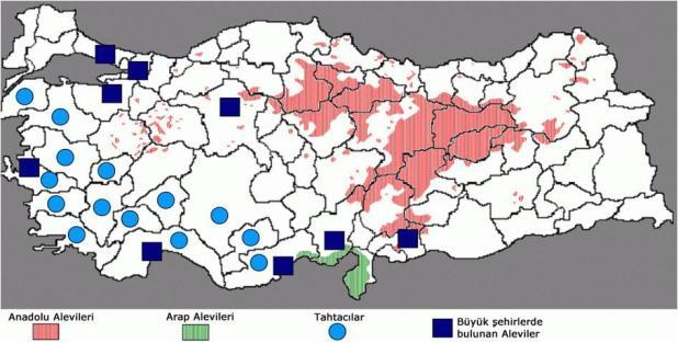 En çok Alevi Köyü nerede?