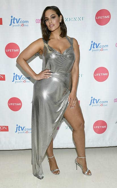 Ashley Graham with Alevì Milano Shoes