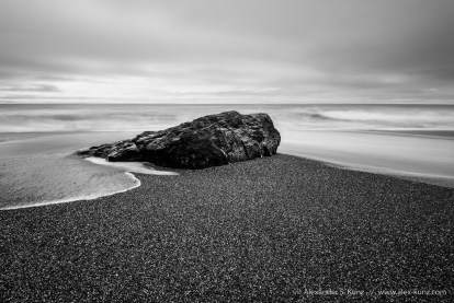 Just a Rock -- Humboldt Lagoons State Park, Trinidad, California, United States