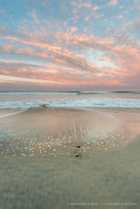 Seaside State Beach, Cardiff By The Sea, California, United States