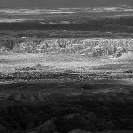 View of Carrizo Badlands from the Domelands, Coyote Mountains Wilderness Area, Imperial County, CA