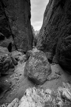 Slot Canyon, Coyote Mountains Wilderness, California, United States
