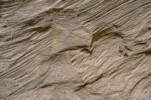Baked Sand -- Anvil Canyon, Coyote Mountains Wilderness, California, United States