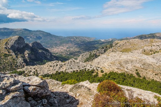 View of Soller -- L'Ofre, Soller, Mallorca, Spain