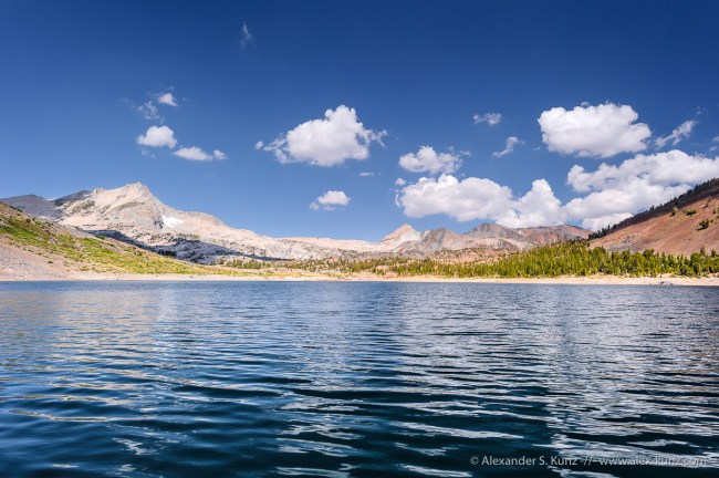 On The Boat Taxi -- Saddlebag Lake, Hoover Wilderness, California, United States