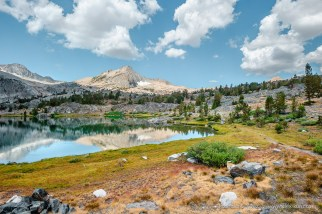 Fellow Hikers -- Greenstone Lake, 20 Lakes Basin, California, United States