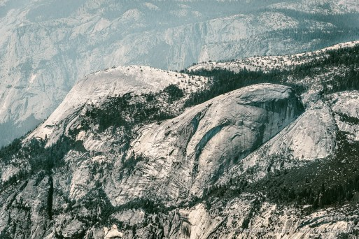 North Dome & Basket Dome -- Clouds Rest, Yosemite NP, California, United States