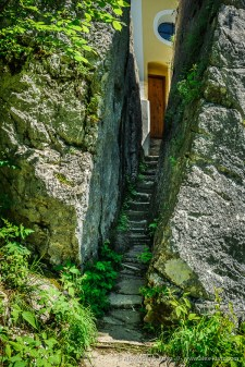 Stairs to the Chapel -- Klobenstein Chapel, Kössen, Tyrol, Austria