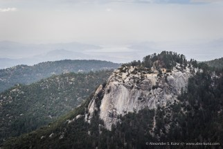 Suicide Rock -- Devil's Slide Trail, Idyllwild, California, USA