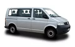 Minivan für den Flughafentransfer