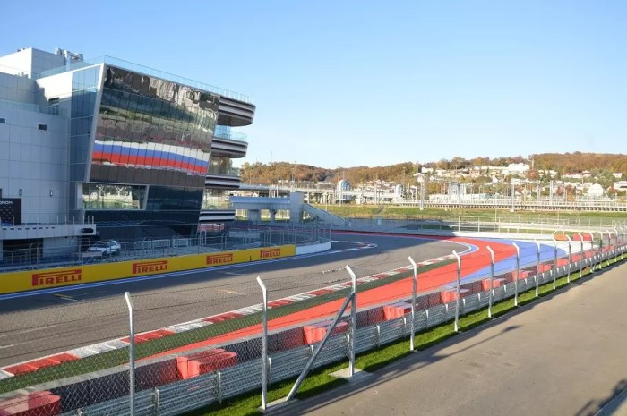 Autodrom Sotschi; Formel 1 in Sotschi